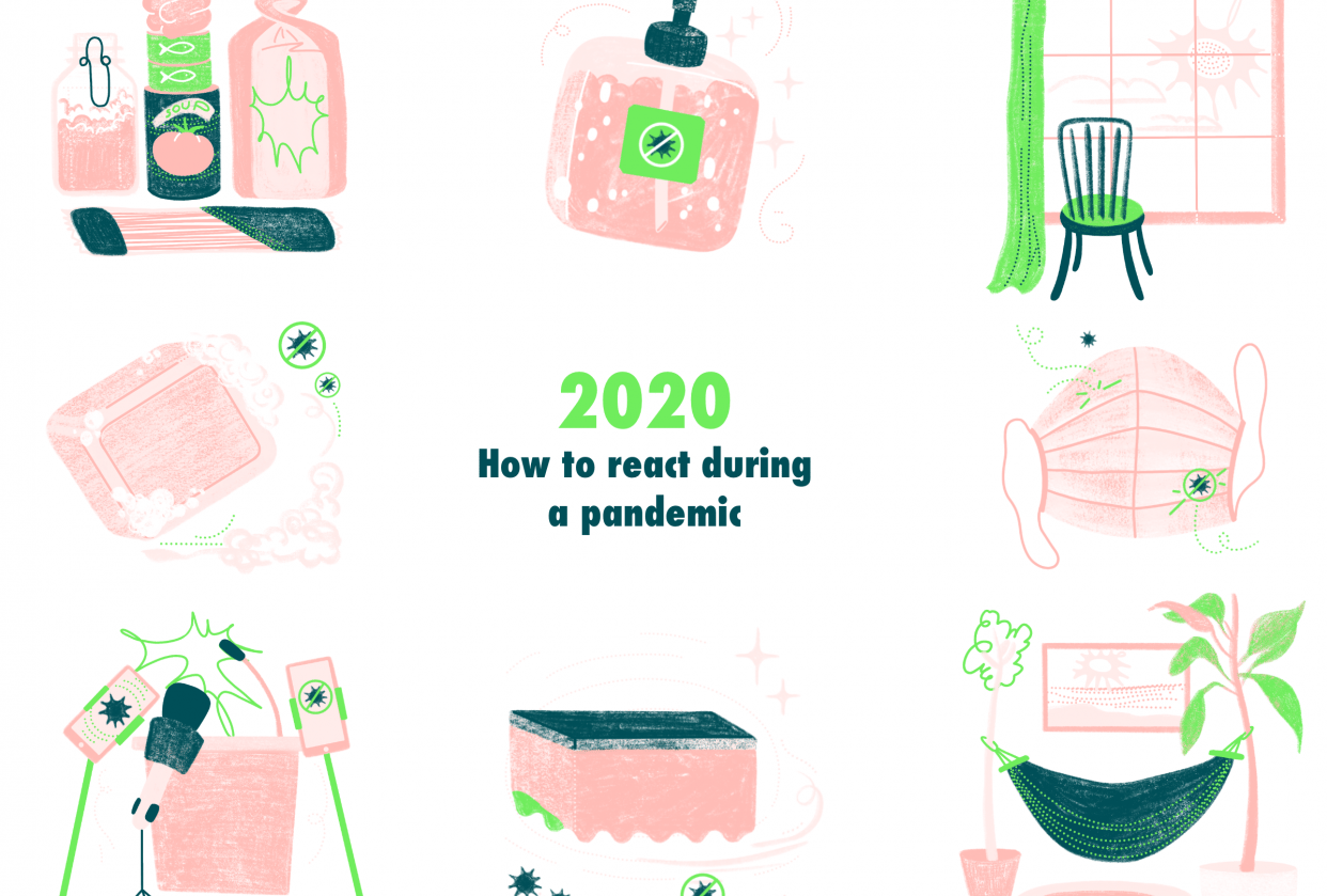 2020 - How to react during a pandemic - student project