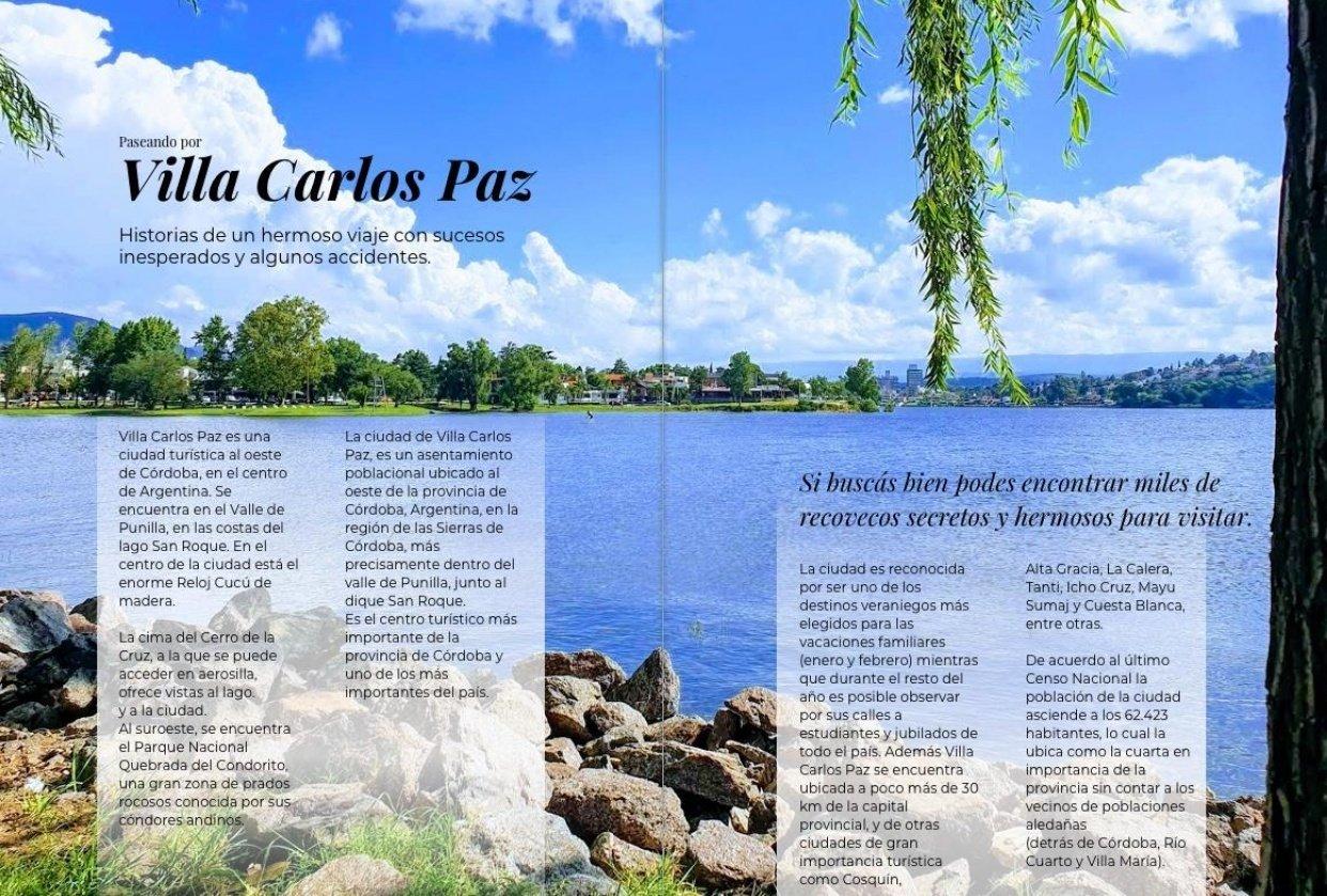 Magazine Layout - student project