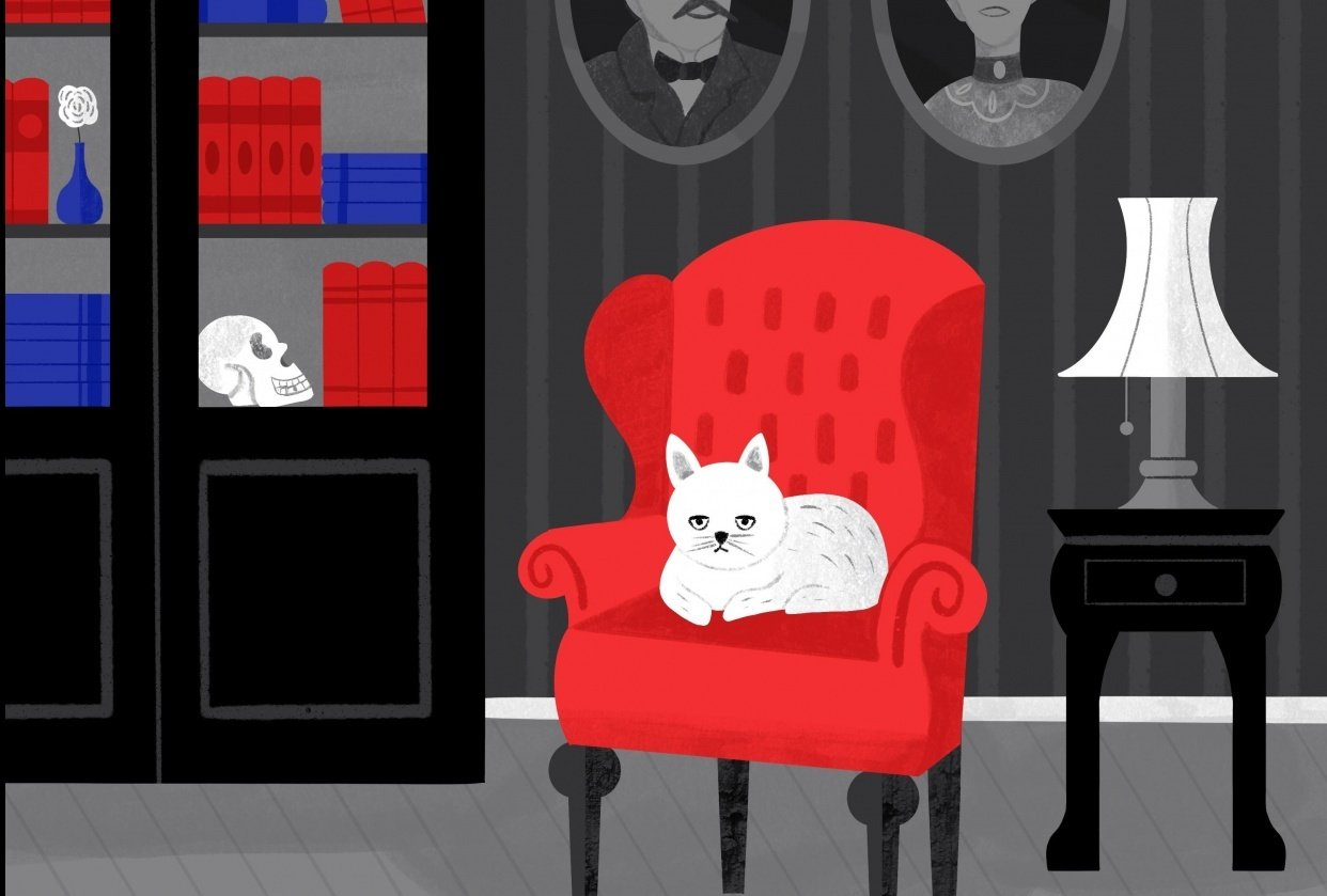 Victorian Cat - student project