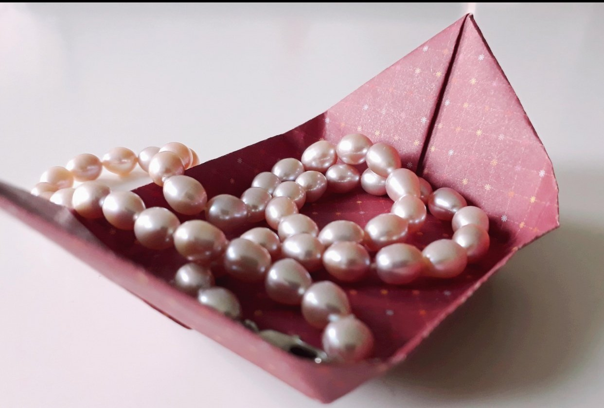Origami Tray (^^) - student project