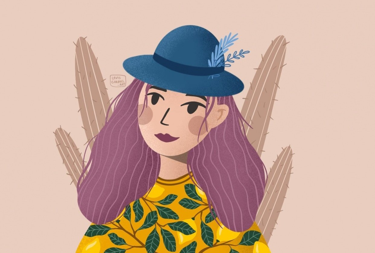 Lemon Girl - student project