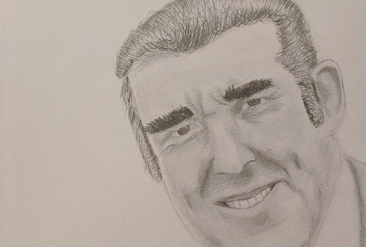 Pencil Portrait Sketch - student project