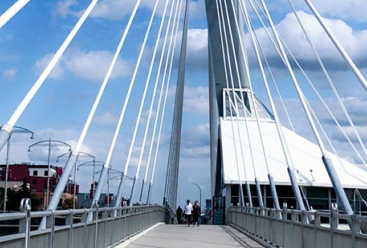 Provencher Bridge - Winnipeg Manitoba - student project
