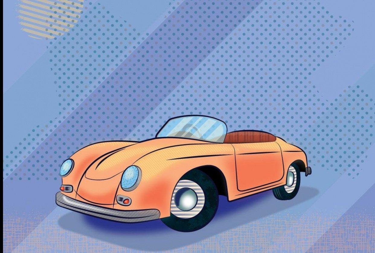 Porsche 365 - student project