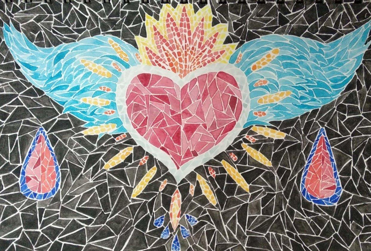 Frida Heart - ZangolotinArt - student project