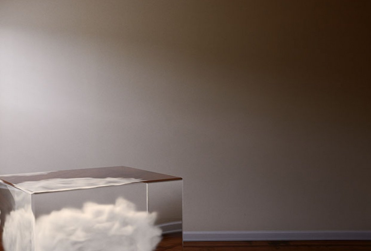 Cloud in a glass box - student project