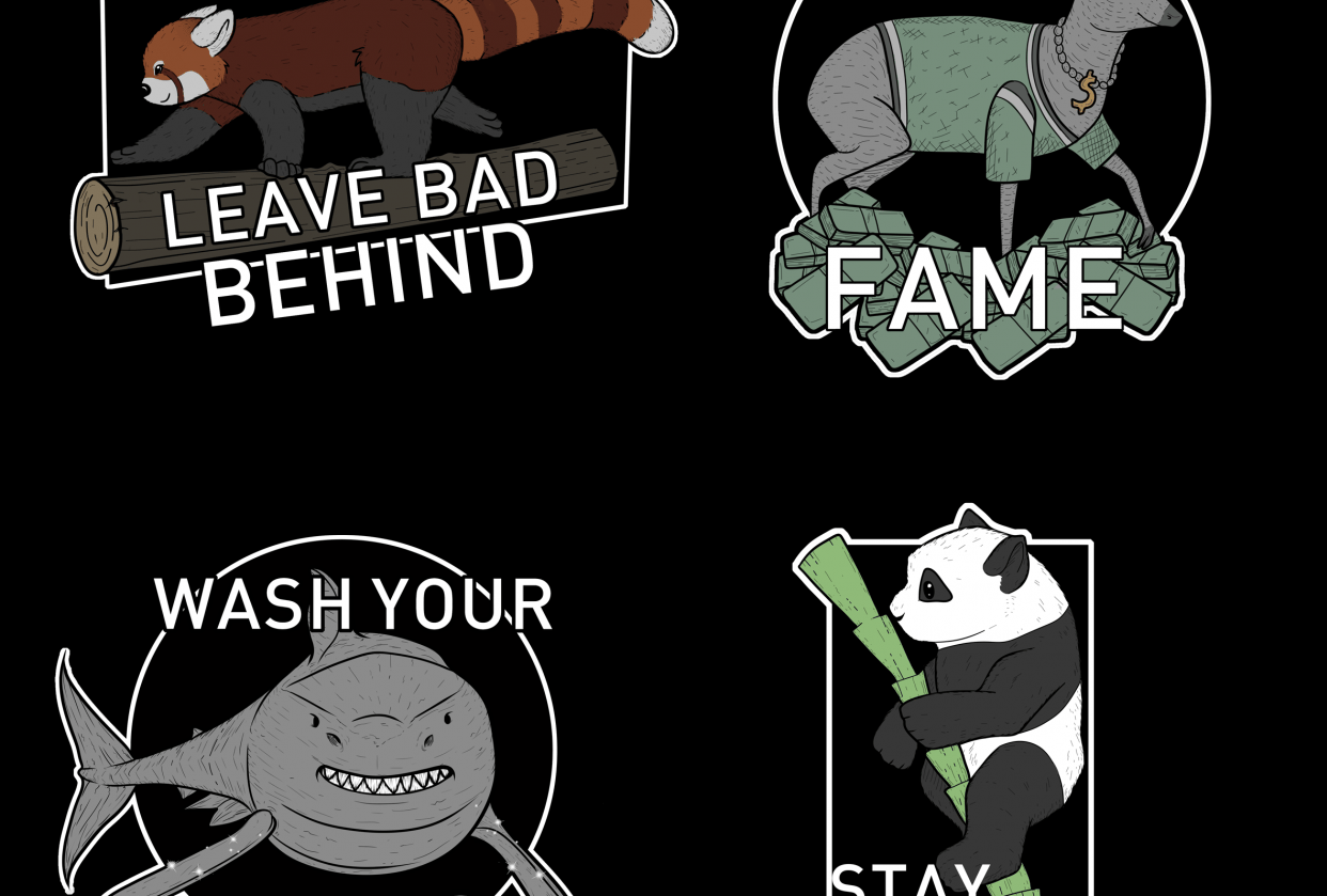 Stickers - student project
