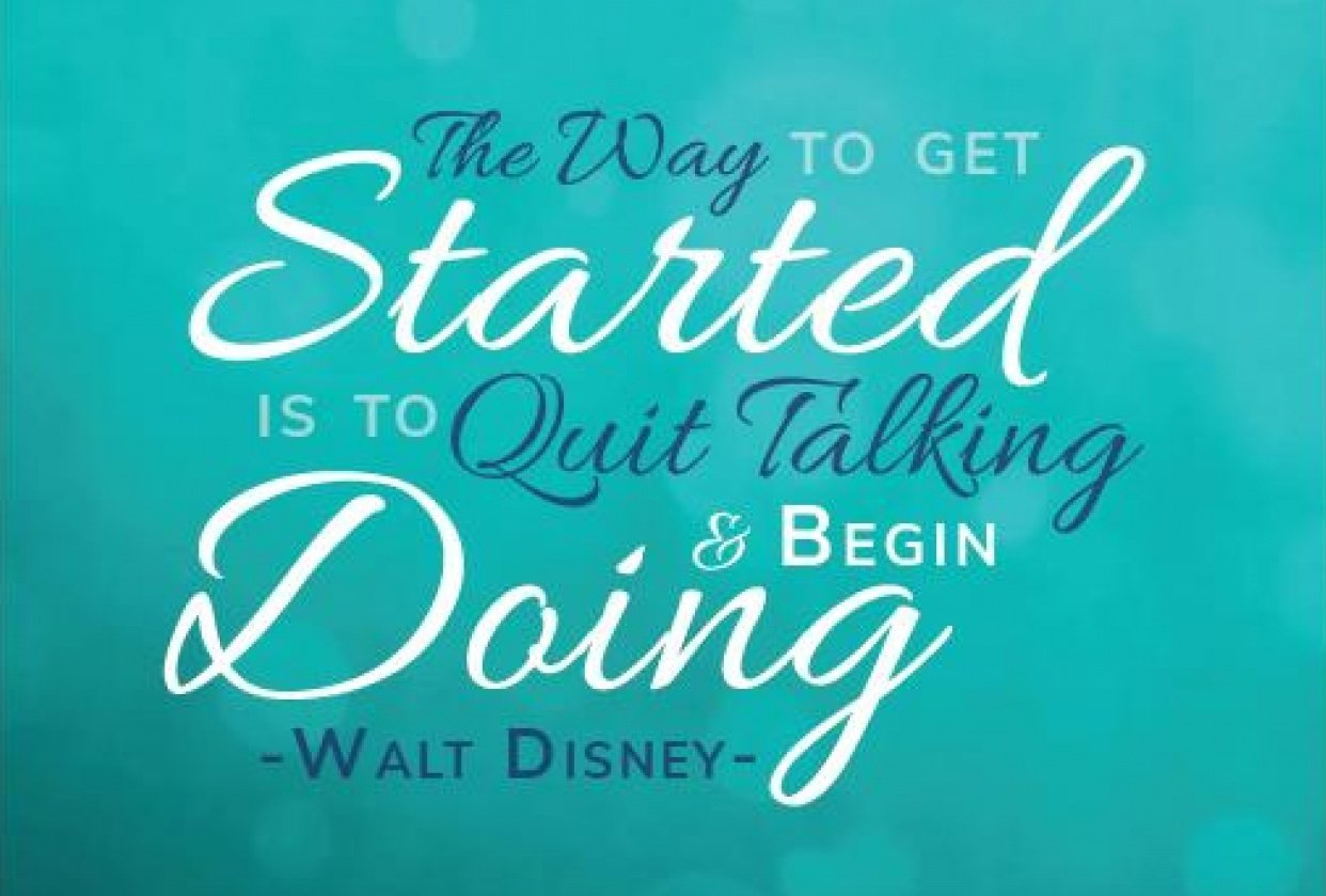 Start doing - student project