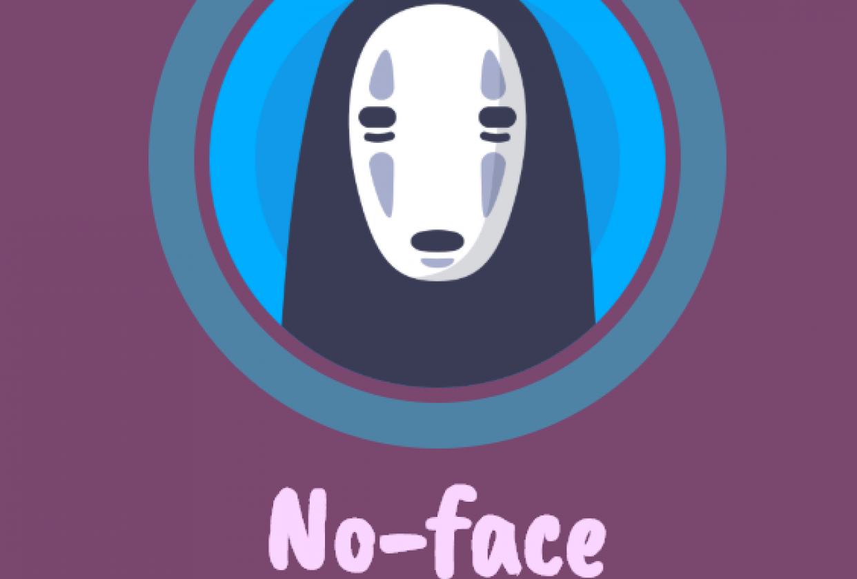 No-Face Website Project - student project