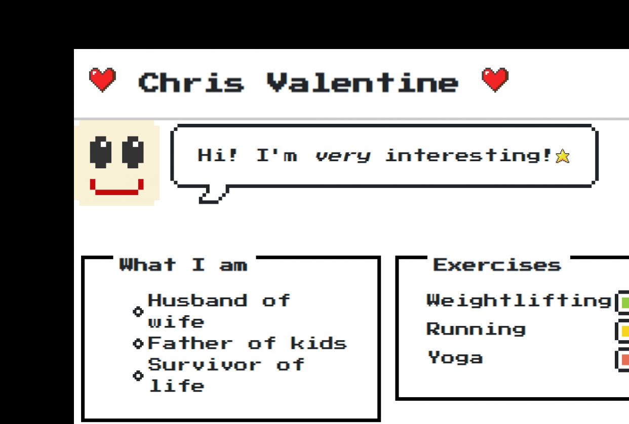 Chris Valentine 8-bit - student project