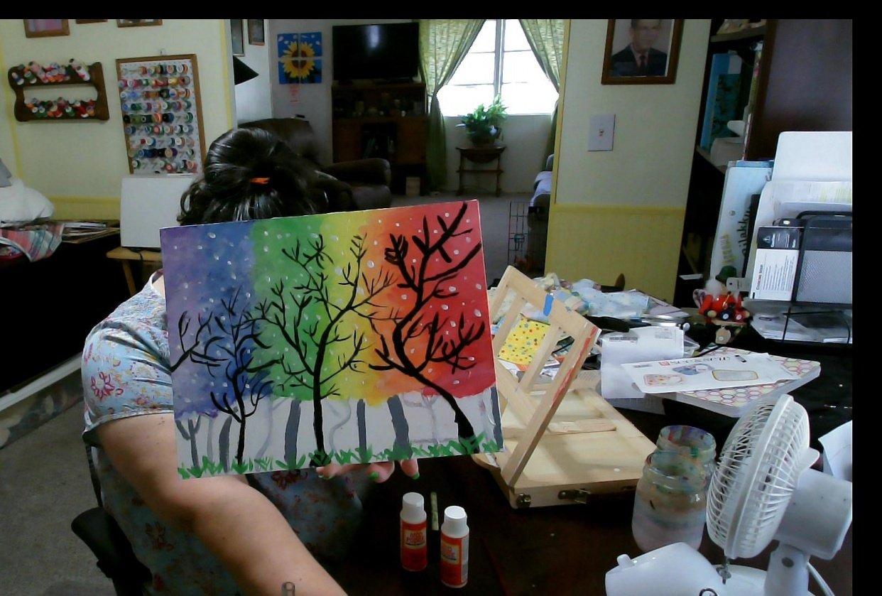 Tammy's Rainbow Trees - student project