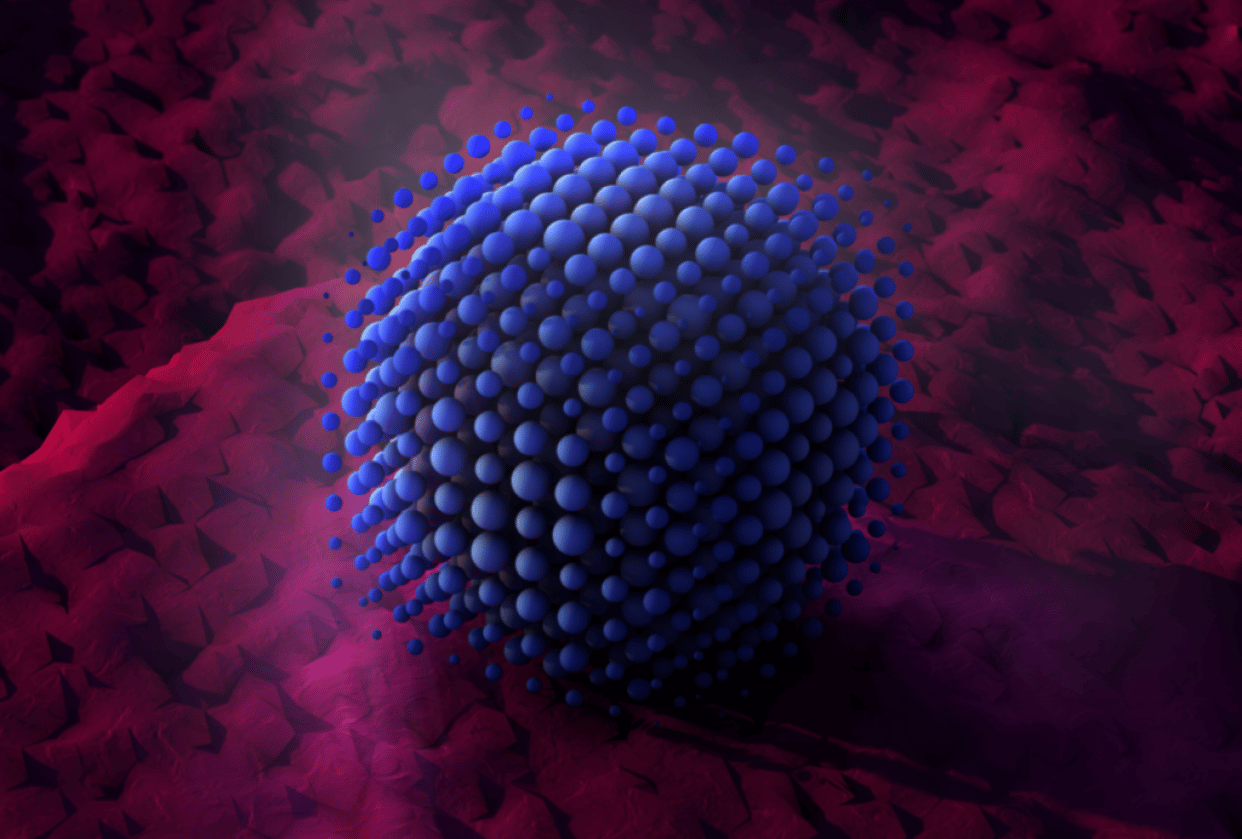 Cube of balls - student project