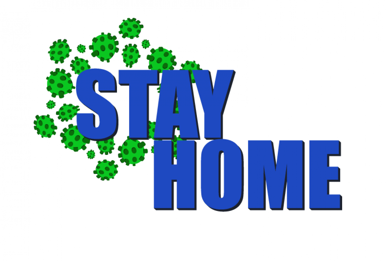 Stay home - student project