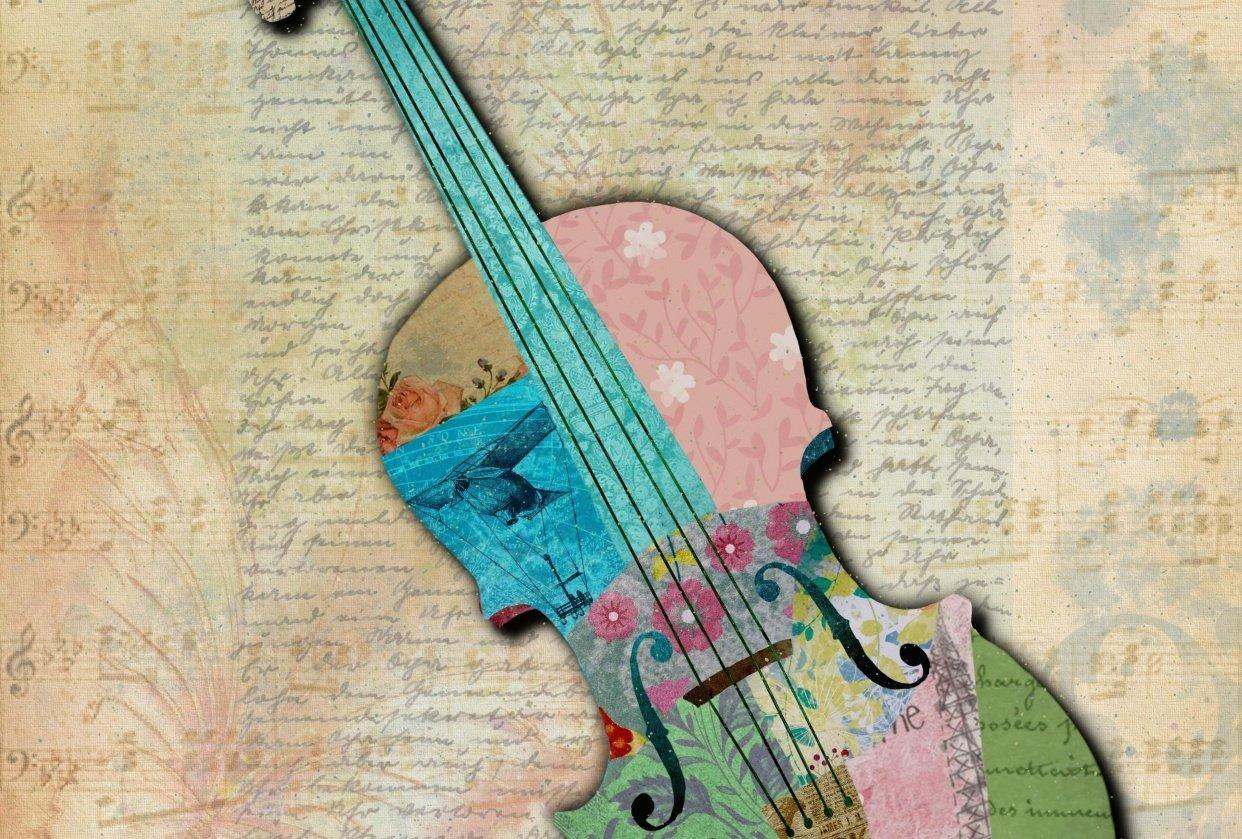 Violin - student project