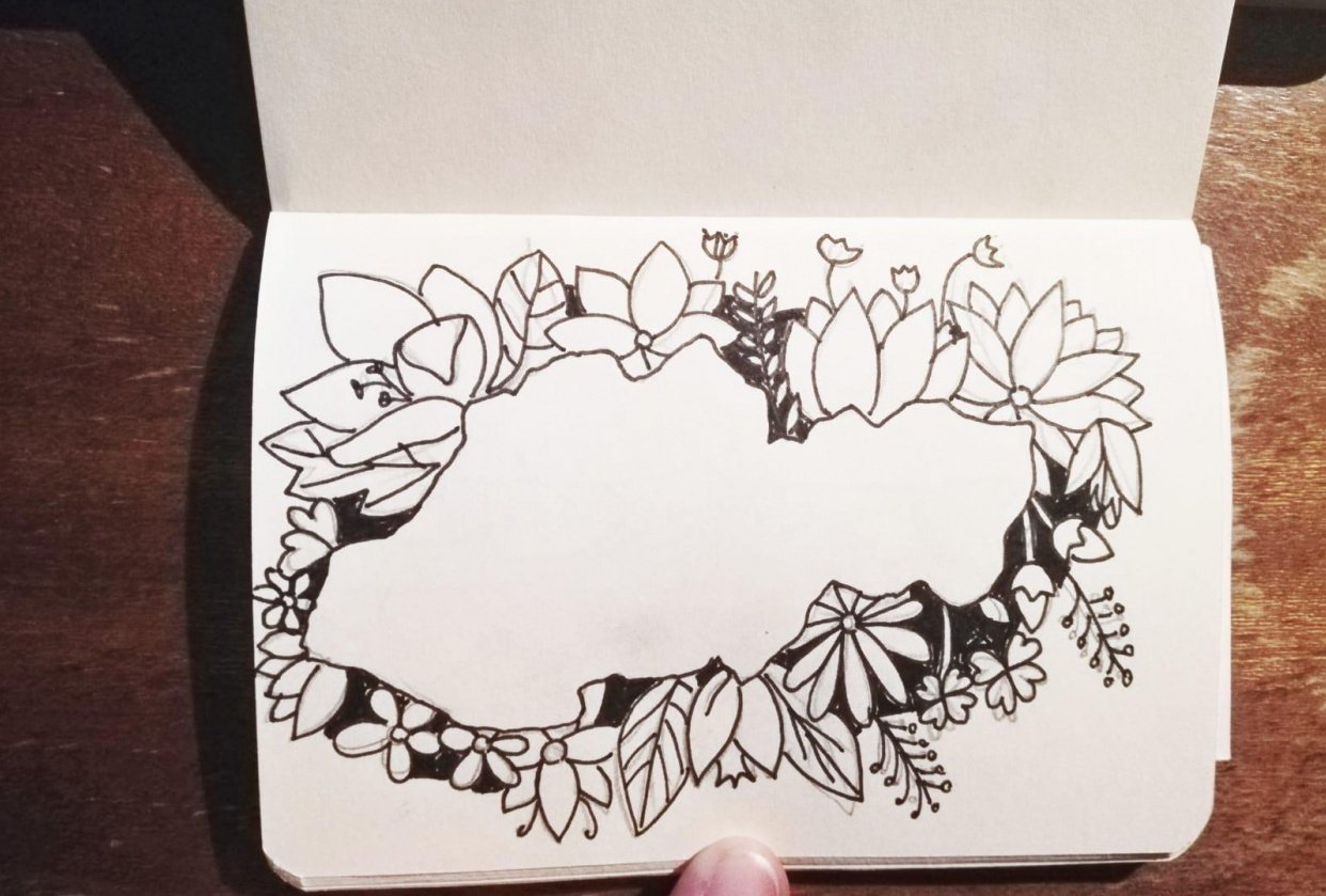 Flowers and leaves - student project