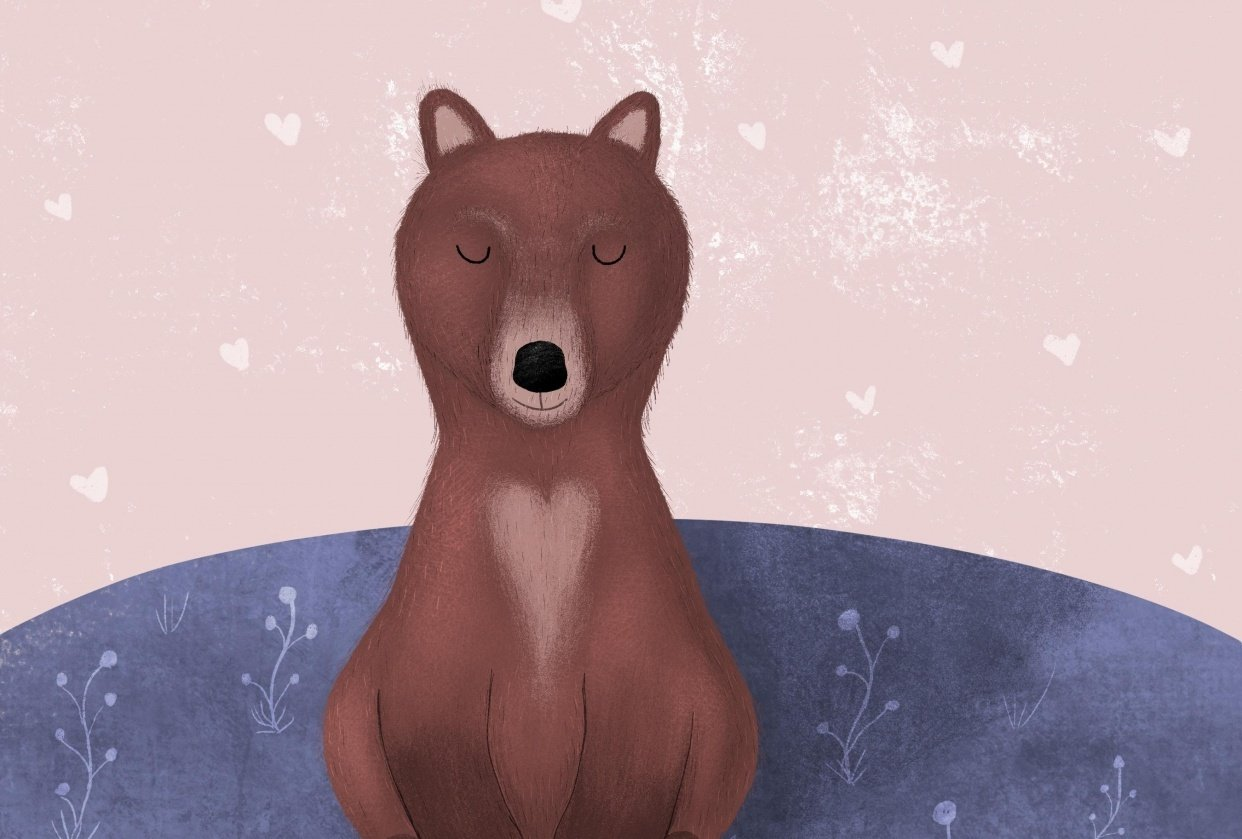 Fox and bear - student project