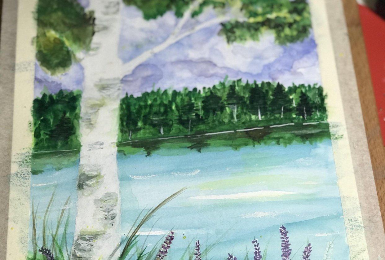 Birch tree - student project