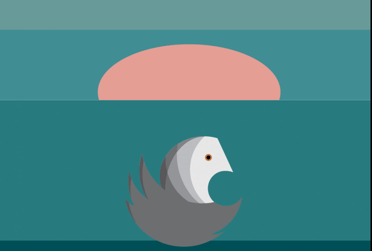 Betty the Swan - student project