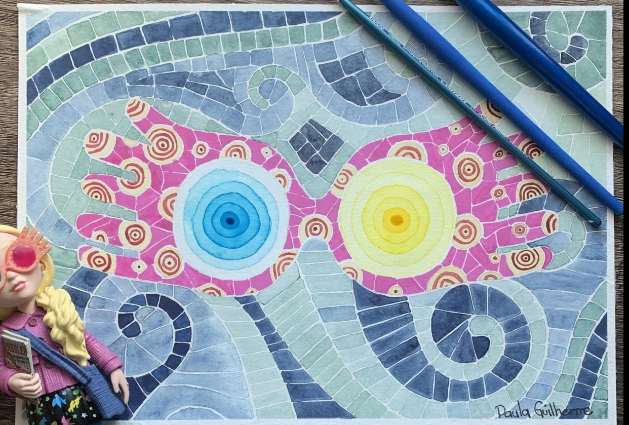 Mosaic Luna Lovegood - student project