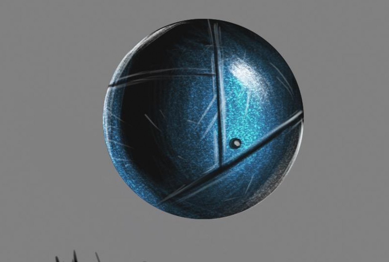 Metal ball - student project