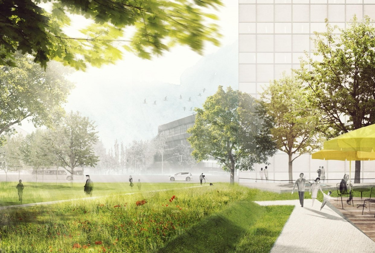 Park - student project