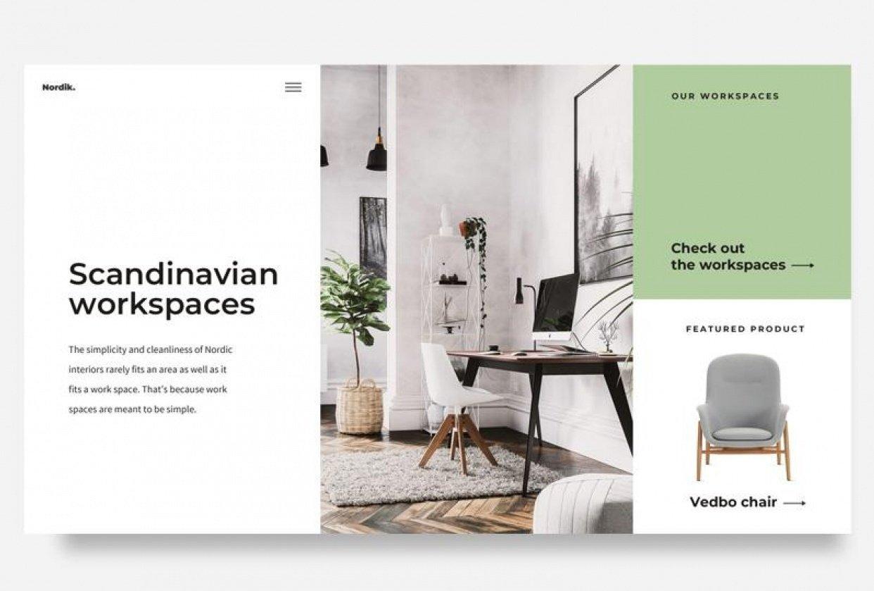 Skandinavian Workplaces - student project