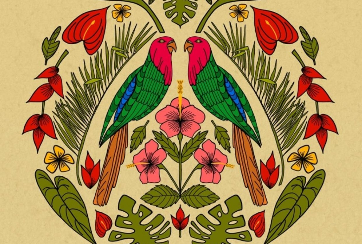 Parrot Jungle - student project