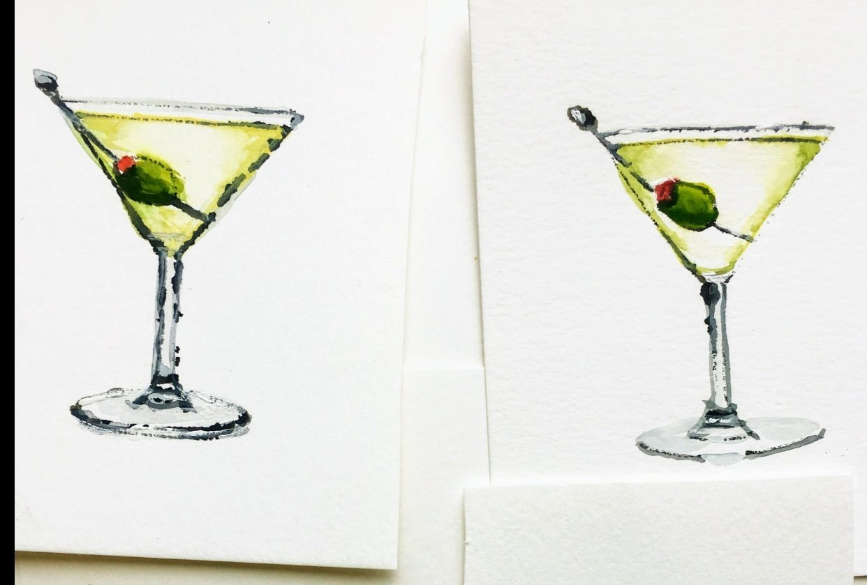 A Set of Martinis - student project