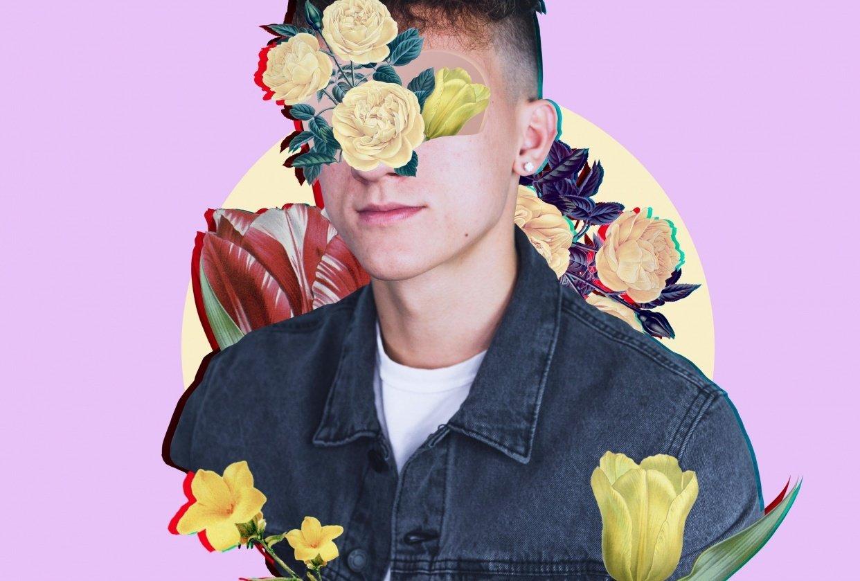 Floral Portrait - student project