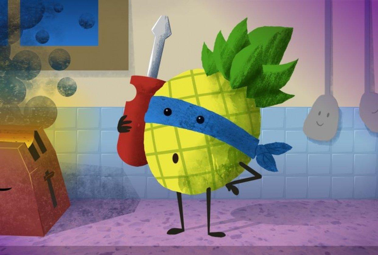 Pineapple Superhero - student project