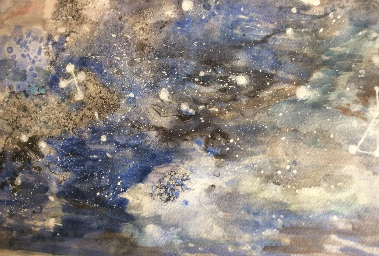 Galaxy with Ana Victoria Colderon - student project