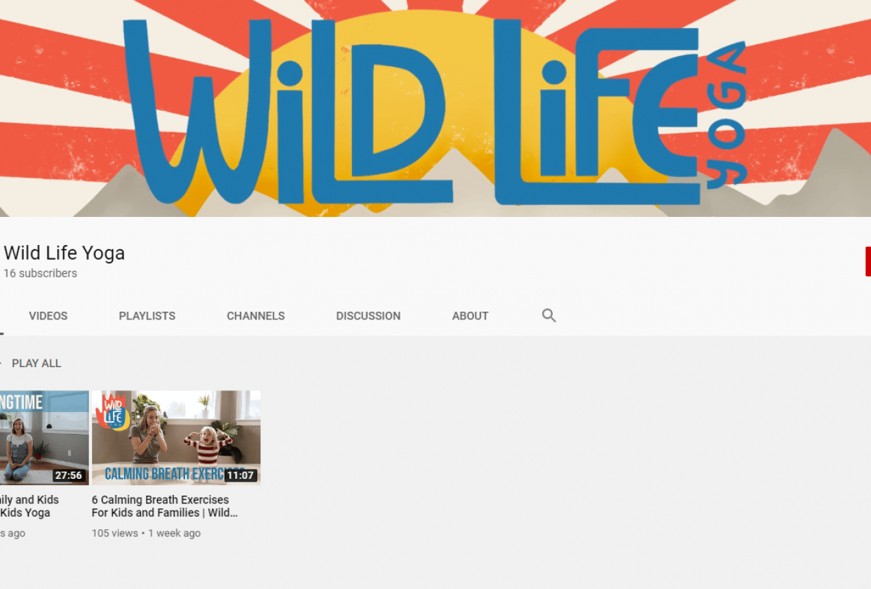 Wild Life Yoga - student project