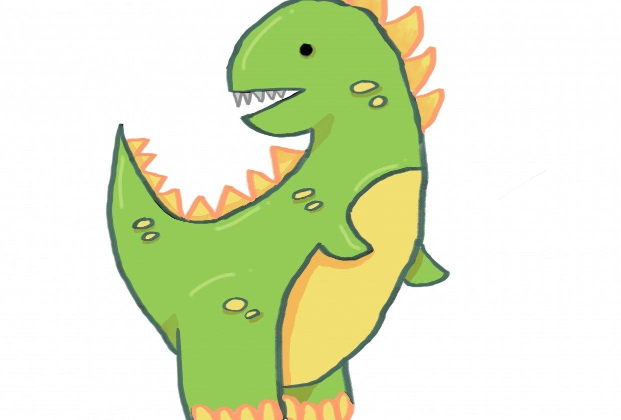 My Dinosaur - student project