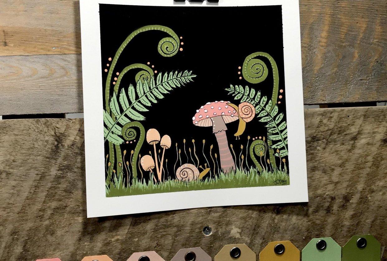 Snail Friends - student project
