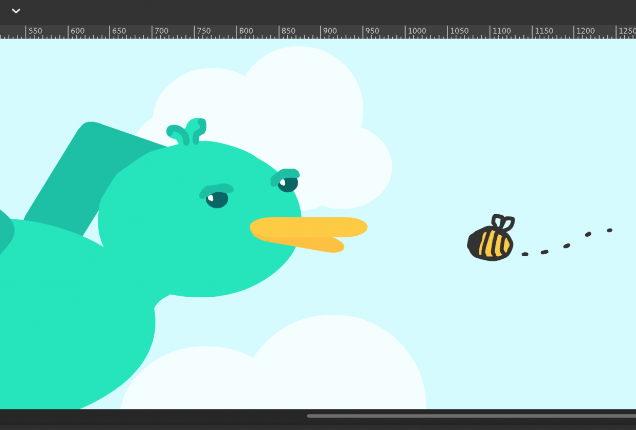 Slightly Annoyed Bird - student project