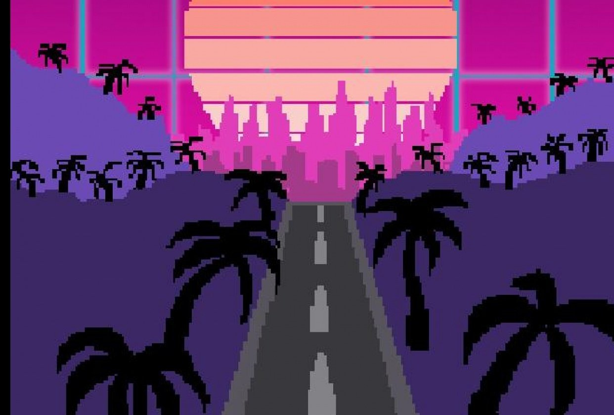 Cyber Sunset - student project