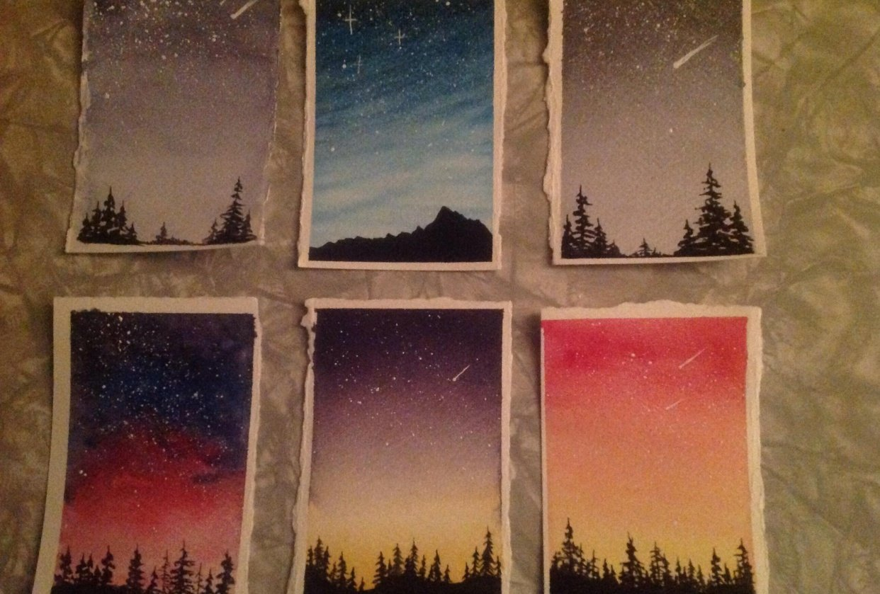 Night skies - student project