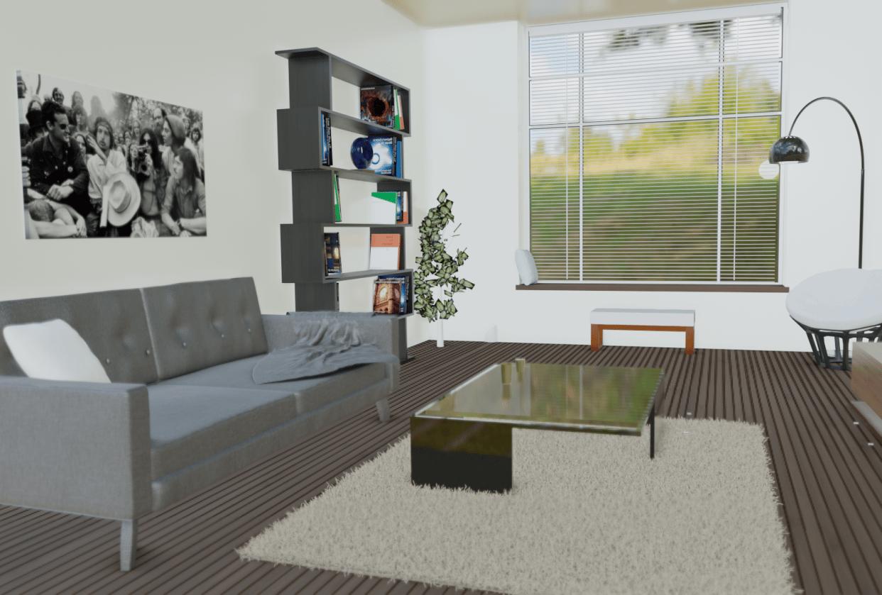 Interior Design (Eevee Render) - student project