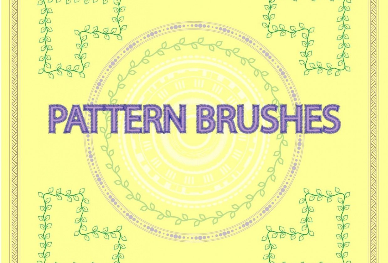 pattern brushes - student project