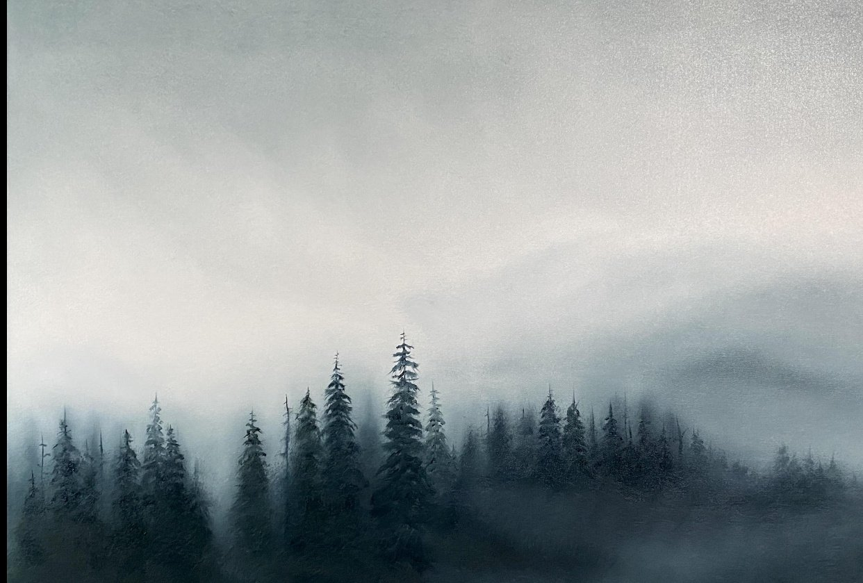 My misty forest - student project