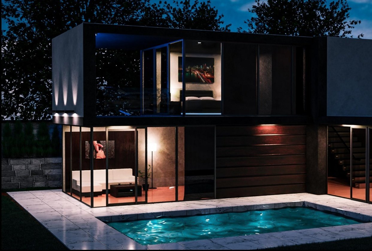 Modern_House - student project
