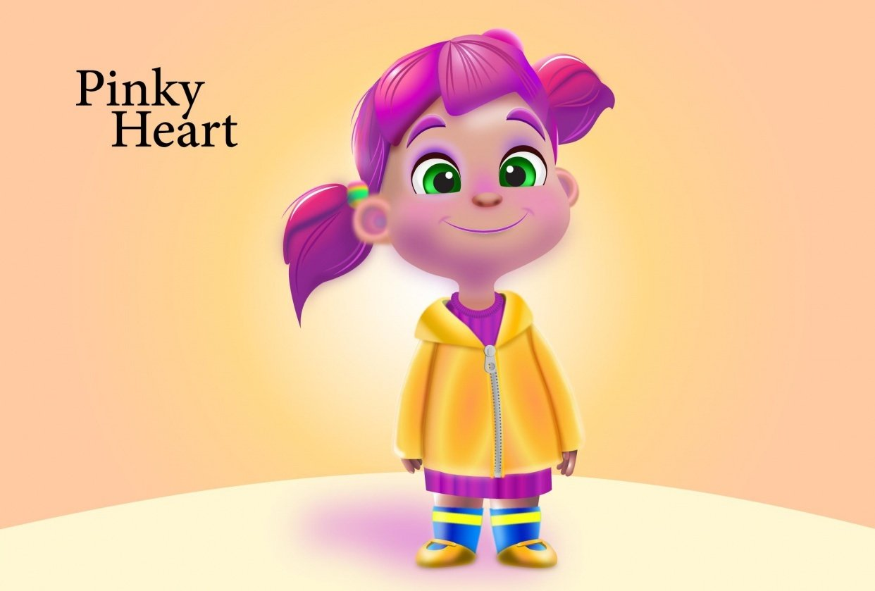 Pinky Heart - student project