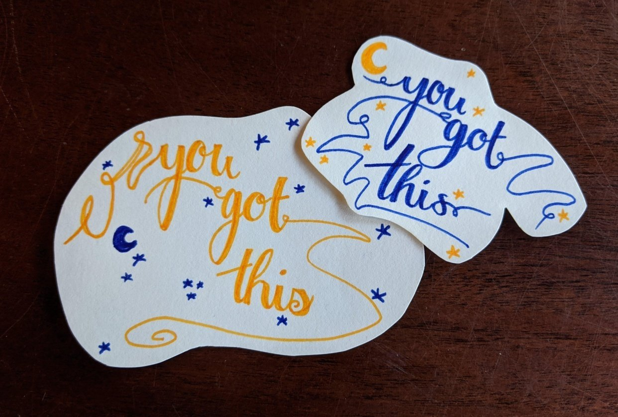 you got this~ - student project