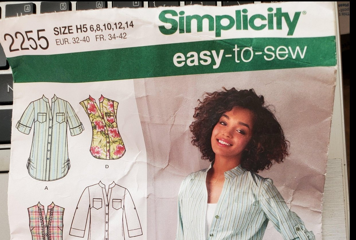 Sewing patterns 101 Project 1 - student project