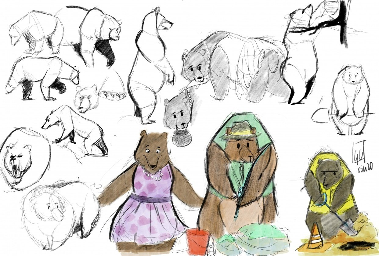 bears ! - student project