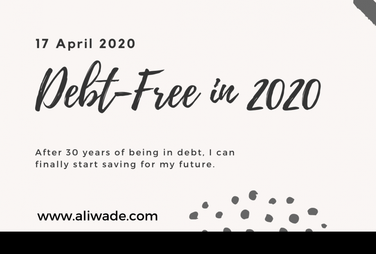 Debt-free in 2020 - student project