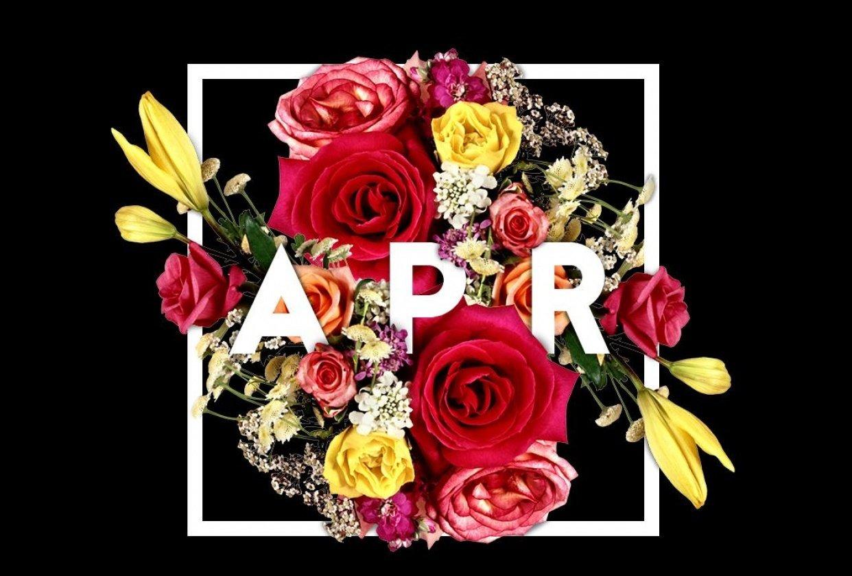 april flowers - student project