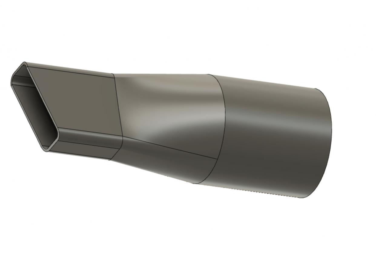 vacuum nozzle - student project