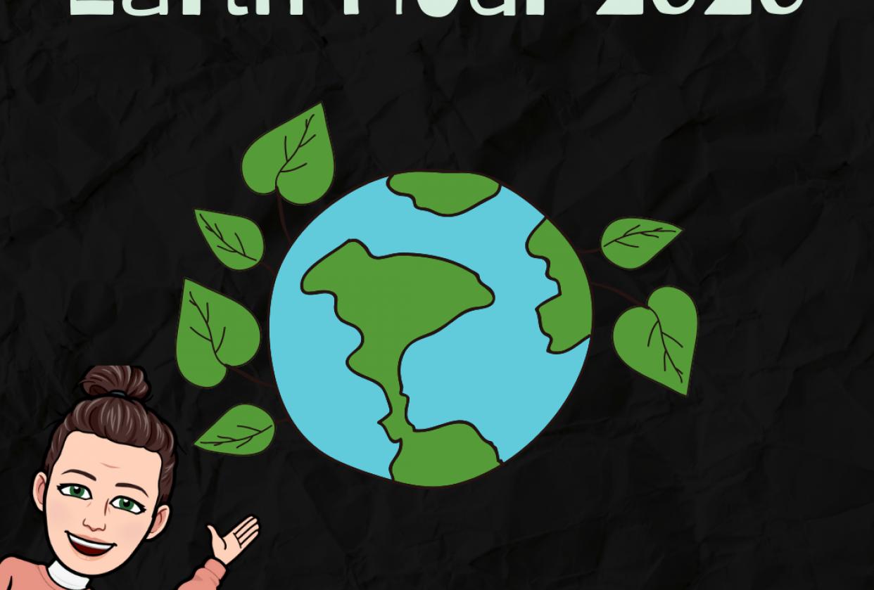 Sabrina celebra el día de la tierra - student project