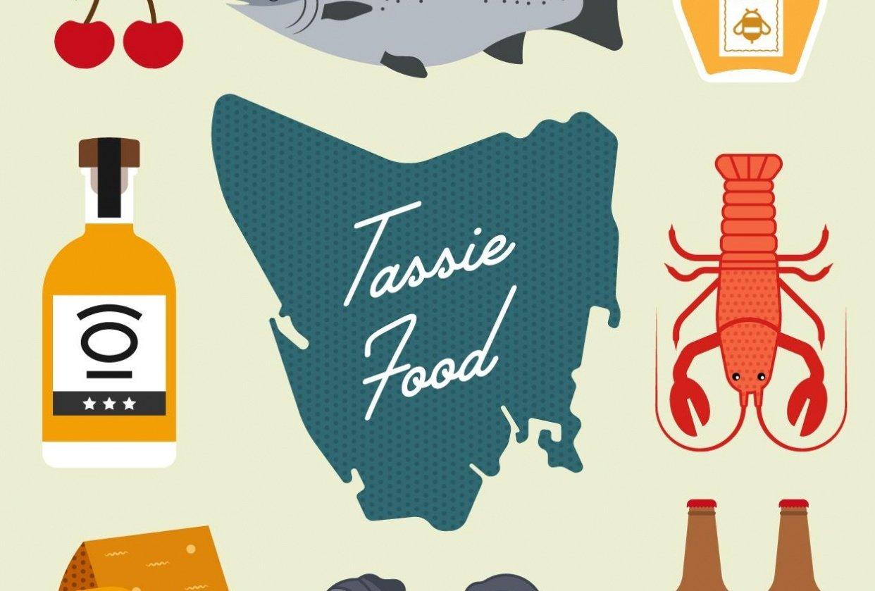 Tassie food - student project